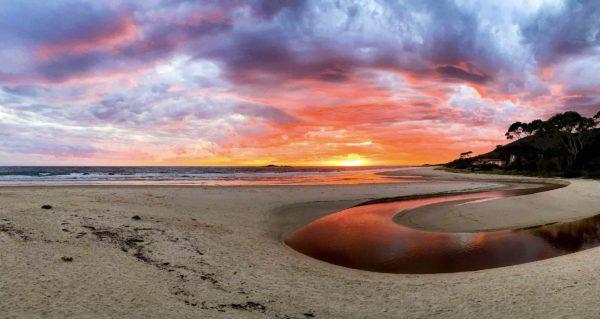 Sisters Beach Sunrise May 2020
