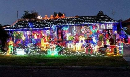 Christmas Lights At 55 Darri Rd Wyongah